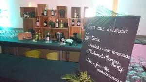Cocktailbar met lekkere gin-tonic