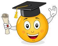 smiley-met-graduatiehoed-diploma-41585950